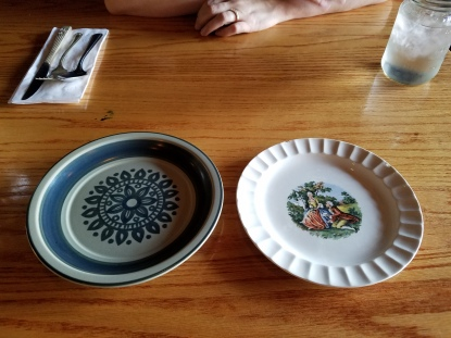 Just two examples of their eclectic plates