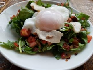 arufula salad before