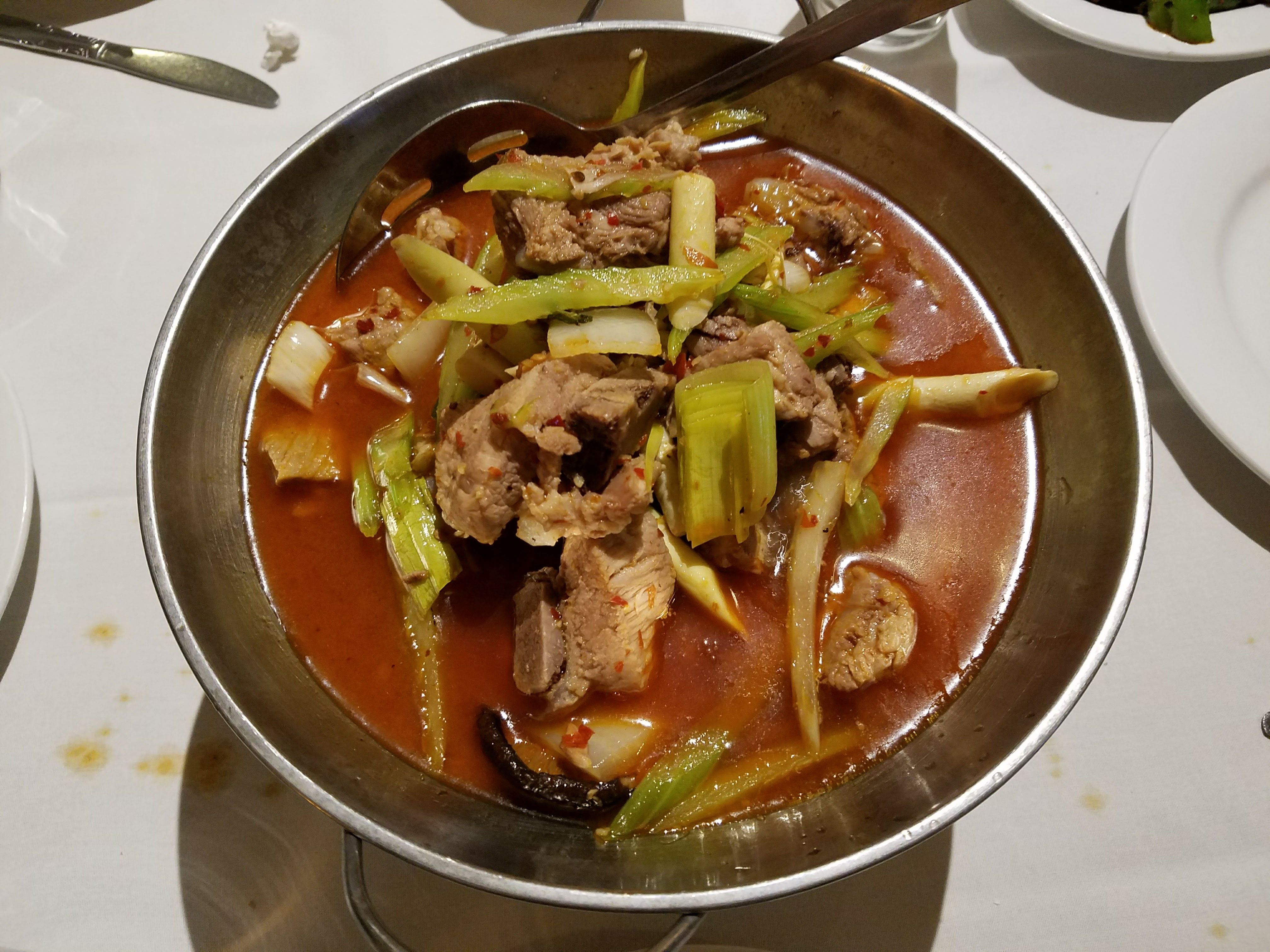 13 ting's kitchen spicy pork ribs